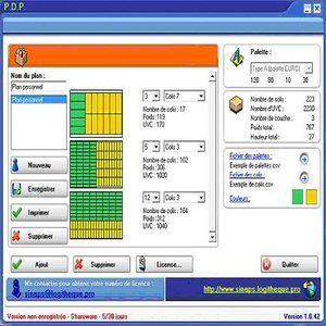 logiciel plan de palettisation gratuit
