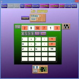 T l charger le jeu des chiffres et des lettres pour - Telecharger table de mixage gratuit windows ...