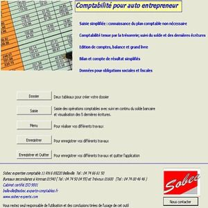 T l charger comptabilit auto entrepreneur pour windows for Auto entrepreneur idee activite