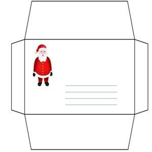 T l charger lettre et enveloppe pere noel pour windows freeware - Enveloppe de noel ...