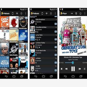 podcast addict how to download for offline play