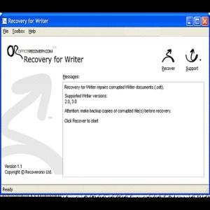T l charger recovery for writer pour windows shareware - Open office writer telecharger gratuit ...