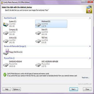 T l charger comfy photo recovery pour windows shareware - Telecharger console de recuperation windows 7 ...