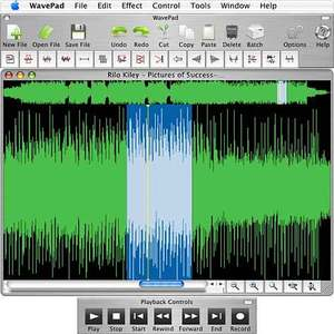 T 233 L 233 Charger Wavepad Audio Editor For Mac 8 02 Freeware