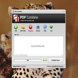 how to combine pdf files windows