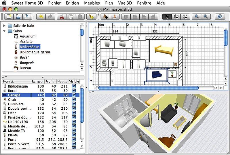 logiciel architecture - Logiciel Gratuit Architecte Interieur