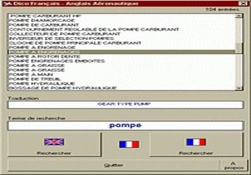 Dico Français Anglais