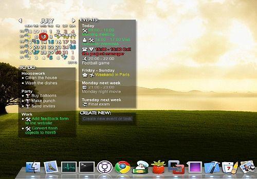 Rainlendar Lite Mac