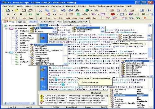 1st JavaScript Editor Pro 3.85