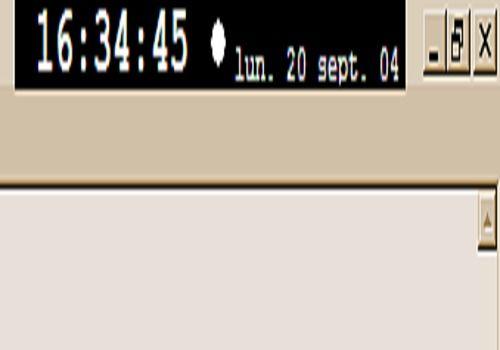 T l charger cr horloge pour windows freeware - Horloge pour bureau windows 7 ...