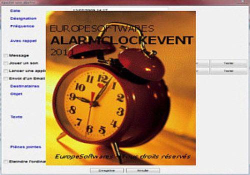 AlarmClockEvent pour Linux