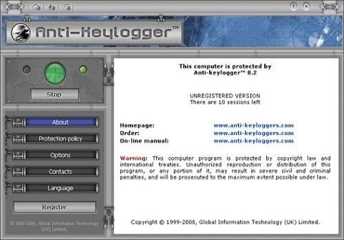 Anti keylogger – Ordinateurs et logiciels