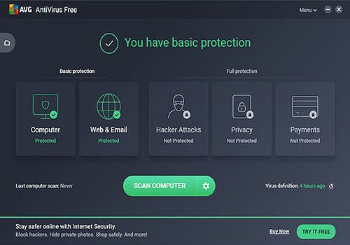 AVG Free Antivirus Edition