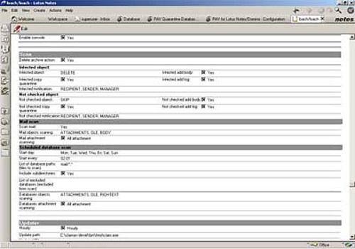 Protea AntiVirus Tools, Avast! version