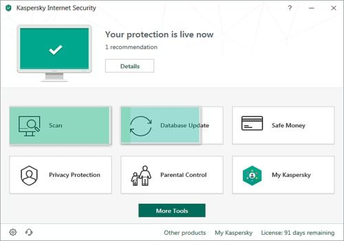 Kaspersky Internet Security 2019 Beta