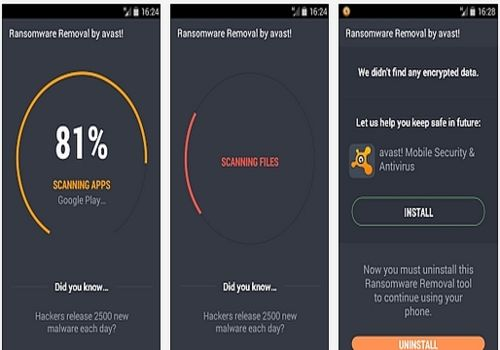 avast! Ransomware Removal Android