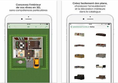 T l charger planner 5d ios app store for Comparatif logiciel architecture