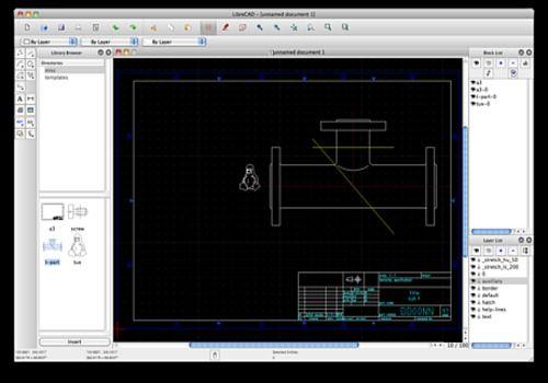 T l charger librecad pour mac logiciel libre - Logiciel d architecture mac ...