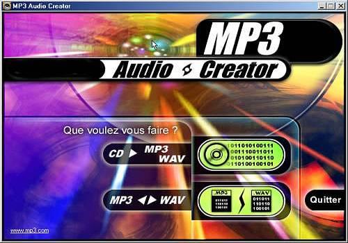 MP3 audio creator