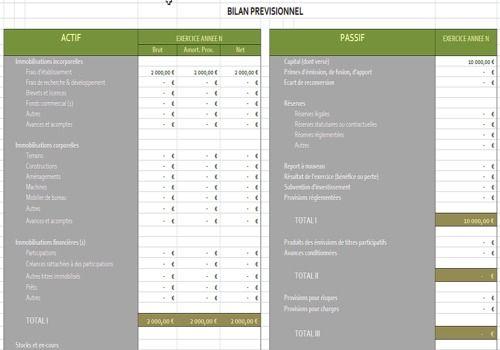 T l charger bilan pr visionnel pour windows freeware - Auto entrepreneur artiste peintre ...