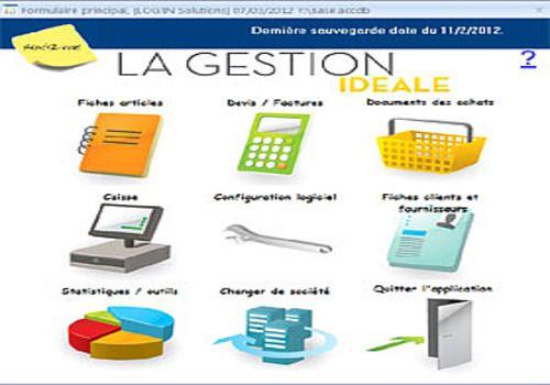 Gestion commerciale Idéale 2012 point de vente