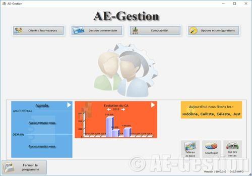 T l charger ae gestion pour windows demo for Logiciel pour garage automobile gratuit