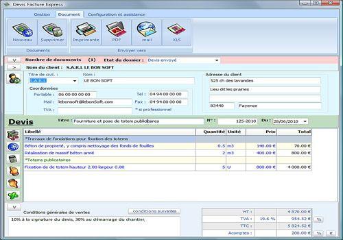 Devis Facture Express 2.9/2014