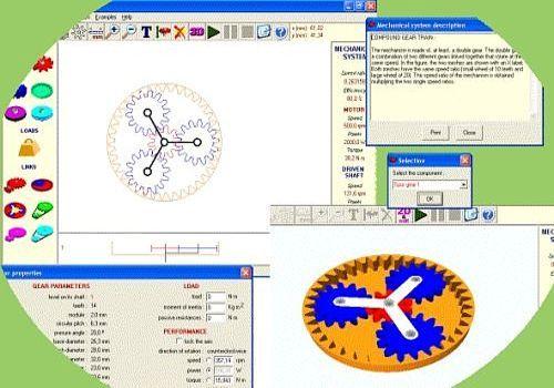 Simulateur de mécanismes