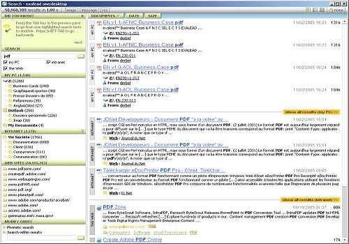 exalead one desktop
