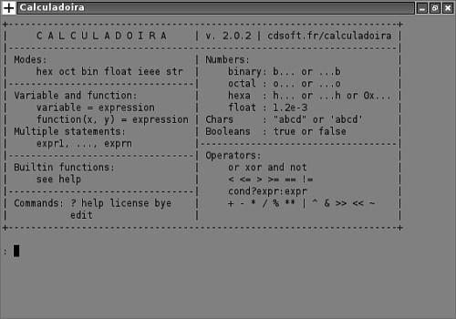 Calculadoira pour Linux