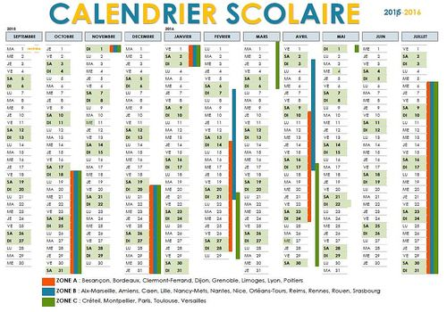 Enseignement.be  Calendrier scolaire