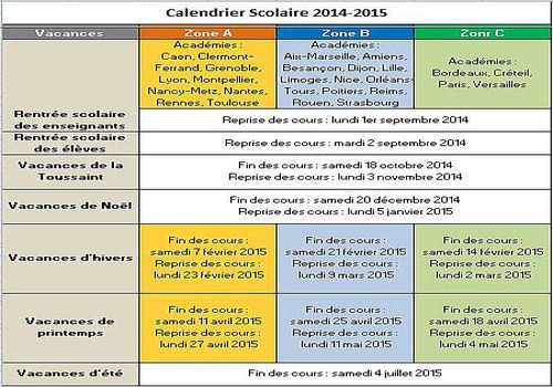 t l charger calendrier vacances scolaires 2014 2015 pour windows freeware. Black Bedroom Furniture Sets. Home Design Ideas