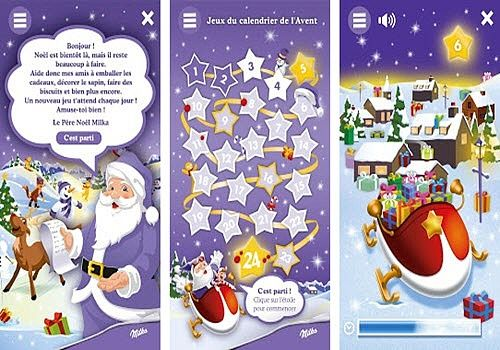 Le Noël Milka Android