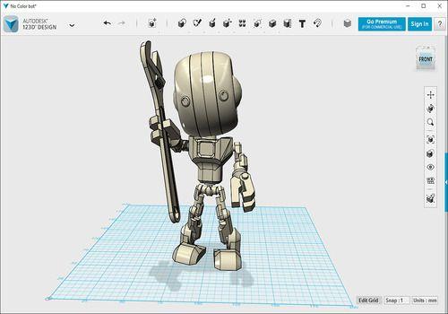 logiciel 123d design