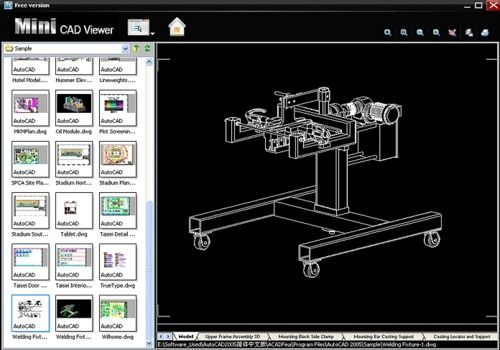 Télécharger Plans De Maison Dwg Autocad Gratuit. Mini CAD Viewer