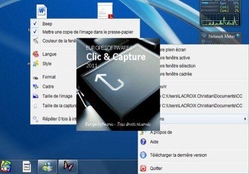 Clic Capture pour Linux