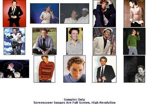 Clay Aiken Screensaver