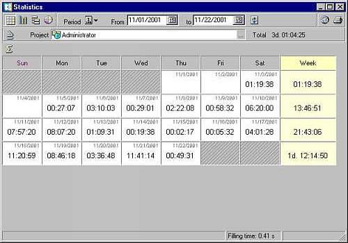 WatFile.com Download Free Télécharger WorkTime pour windows | Shareware