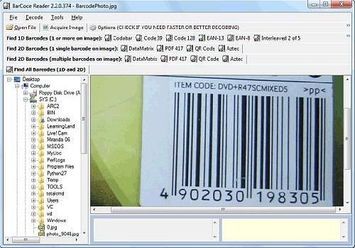 Bytescout BarCode Reader