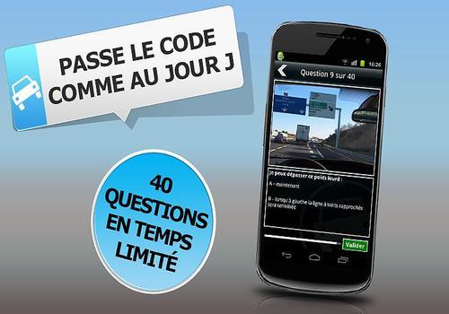 Code de la route à la carte Android