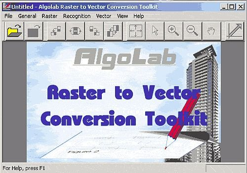 Algolab Raster to Vector Conversion CAD/GIS SDK