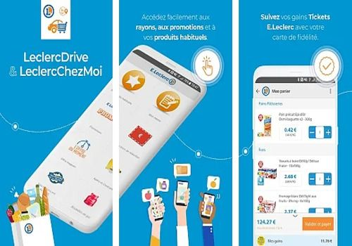 LeclercDrive Android