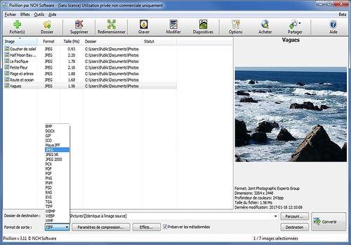 Pixillion - Convertisseur d'images (4.11)