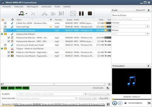 Xilisoft WMA MP3 Convertisseur 6