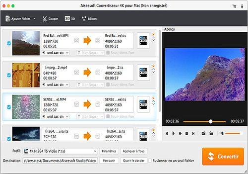 Aiseesoft Convertisseur 4K pour Mac