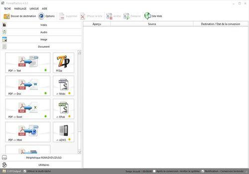 T l charger format factory 4 3 0 0 pour windows freeware - Telecharger logiciel couper mp3 ...