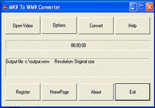 MKV To WMV Converter