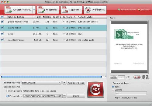 Mac PDF Word Convertisseur – Convertir des PDFs en Word sur Mac