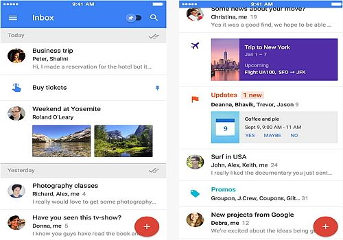 Inbox by Gmail iOS