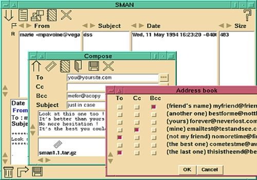 SMAN Simple Mail Manager pour Linux